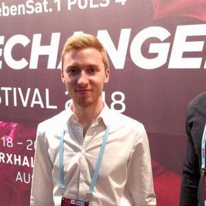 CHG beim Gründerfestival 4gamechangers