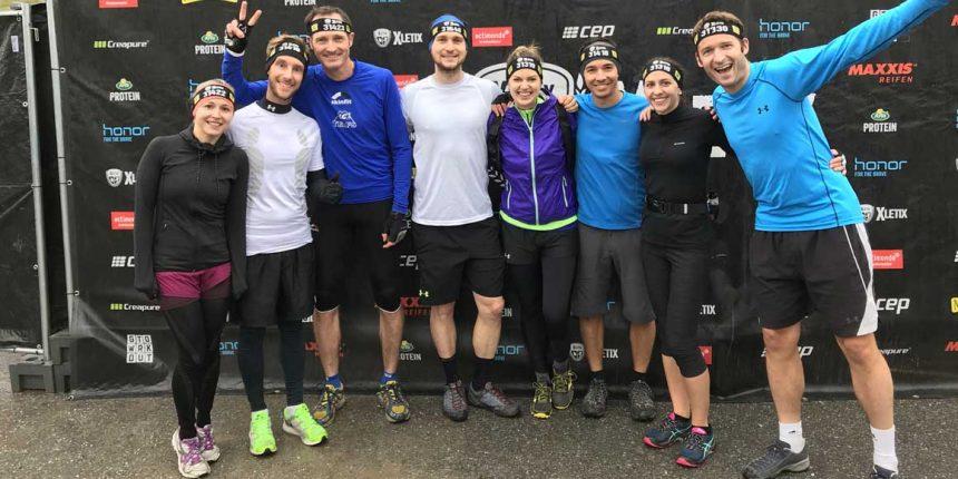 CHG-Team beim XLETIX Hindernislauf
