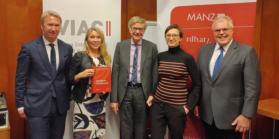 Neu erschienen: Handbuch Schiedsrecht
