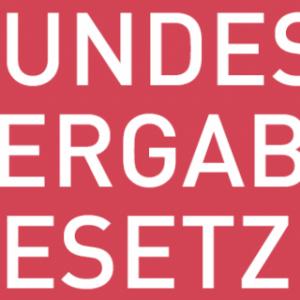 Bundesvergabegesetz 2018 in Kraft