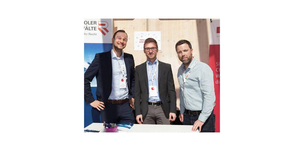 CHG bei der Gründermesse der Wirtschaftskammer Tirol