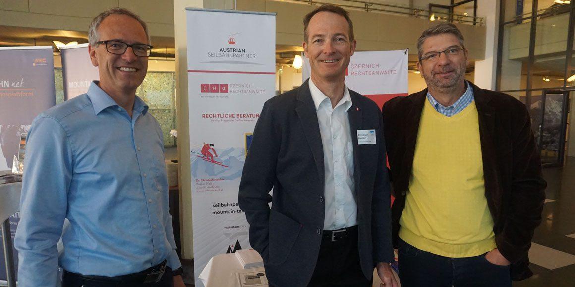 CHG als Sponsor beim TourismusForum Alpenregionen