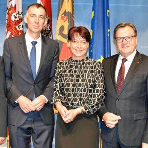 Empfang des deutschen Honorarkonsuls Dietmar Czernich 2019