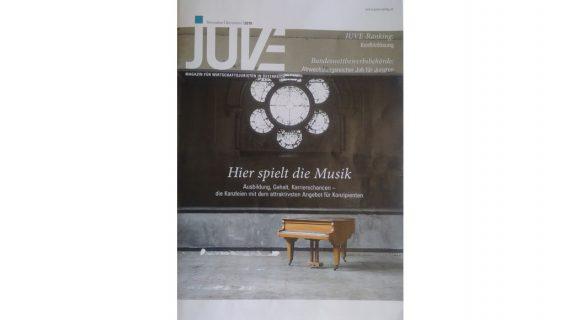 CHG auf Platz 3 der besten Ausbildungskanzleien in Österreich